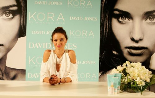 david jones, fashion, kora, miranda kerr, model, white, white top