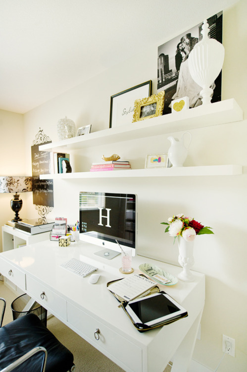 decor, desk, home, home office, office space