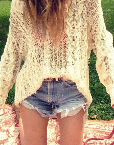 denim, fashion, girl, jumper