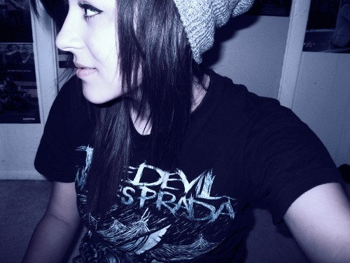 brown hair, cute girl, devil, girl, hair, prada, scene, scene girl, scene hair, scene style, style, the devil wears prada