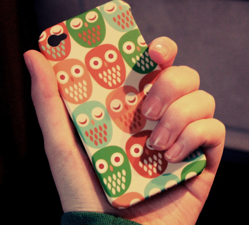 awesome, blogg, digg, fancy, hand, in my hand, iphone, lovely, owl, ugledeksel
