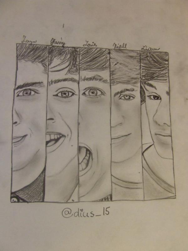 Draw  One Direction