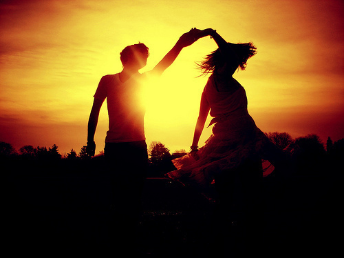 dream, boy and girl, couple, dance