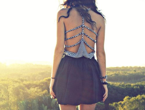 dress, fashion, girl, summer