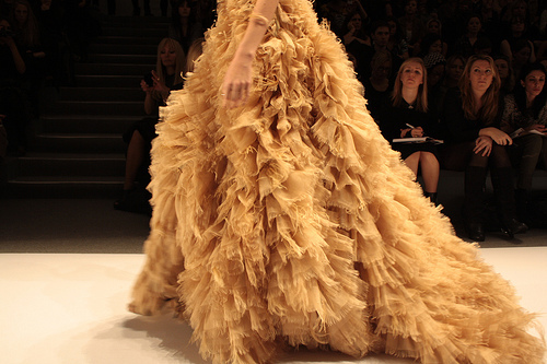 dress, fashion, glamorous, luxury, runway