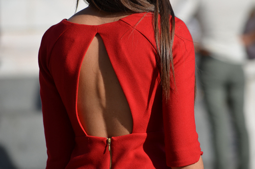 dress, fashion, red