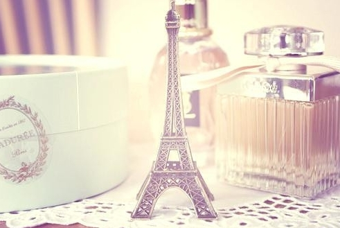 eiffel, girl, love, paris, photo, pink, tour, tower