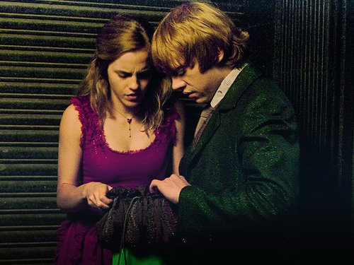 ema watson, harry potter, love, rupert grint