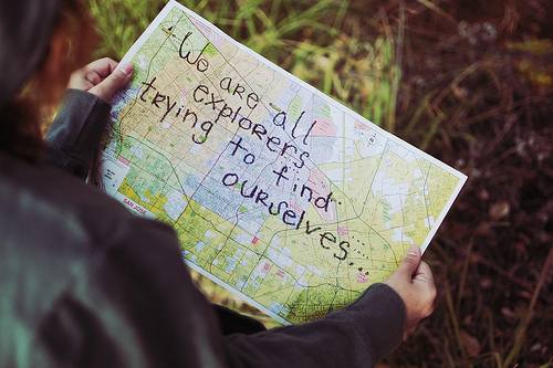 explorer, find, girl, map, text, try, we