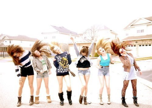 fashion, friends, friendship, girls, hair, happy