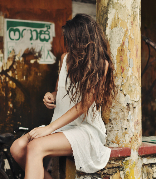 fashion, girl, hair, model