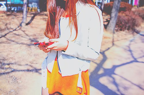 fashion, girl, phone, style, ulzzang