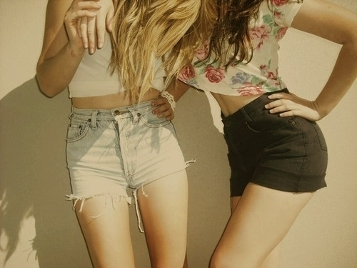fashion, girls, shorts, style, summer