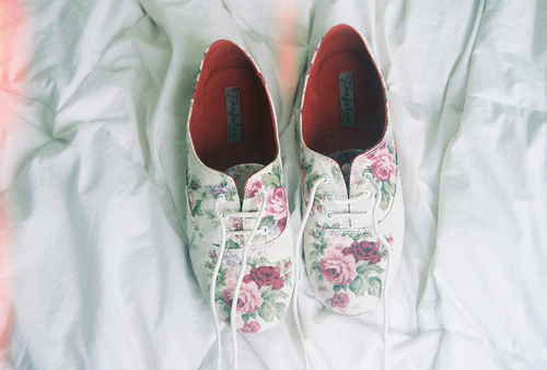 fashion, hype, shoes flowers, style