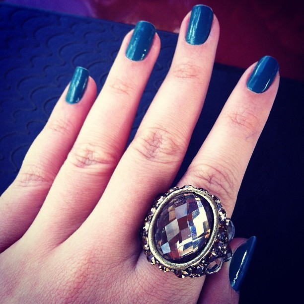 fashion, nails, ring