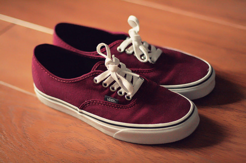 fashion, red, shoes, summer, usa, vans, vintage