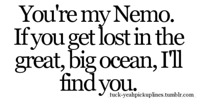find, lost, love, nemo, ocean, you