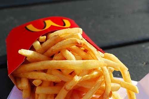 crispy, delicious, food, french fries, mcdonalds, yellow