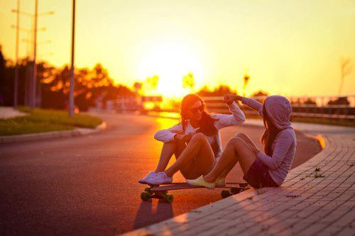 friends, love, skate