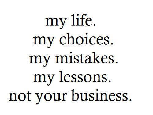 fu, mistakes, my lessons, my life