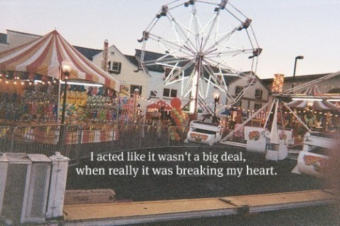 fun, heartbreak, life, love, quote, rollercoaster