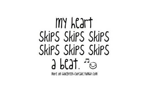 Funny Heart Skips A Beat Olly Murs Quote Image 490613