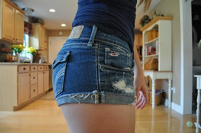 girl, girls, hollister, jeans, kitchen, shorts