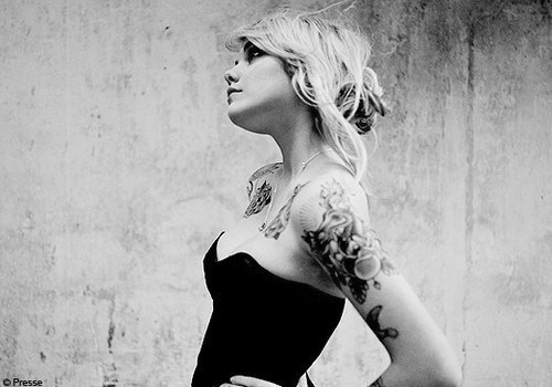 girl, photography, tattoo