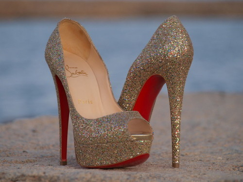 girls, heels, high heels, louboutin, madam hollywood, shine, silver