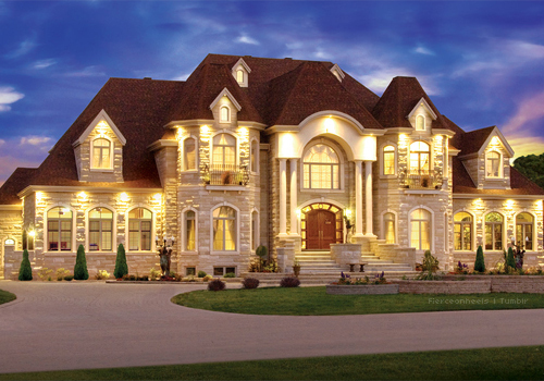 Gorgeous home huge luxury image 490184 on for Very pretty houses