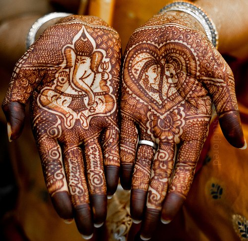 hands, henna, tattoo