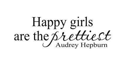 happy girls, quote, true
