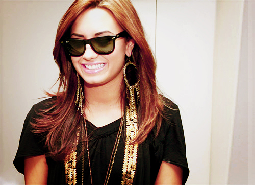 adorable, beautiful, cute, demi lovato, fashion, girl, gorgeous, hot, long hair, photography, pretty, shades, smile, stunning