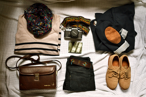 hot, bag, clothes, cool