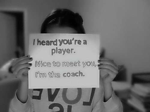 beautiful, black and white, boy, coach, cool, cute, funny, girl, hot, life, love, player, players, sad, text, vintage