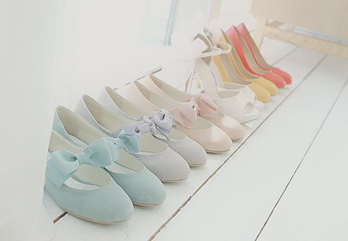 blue, colourful, cream, fashion, flat shoes, heels, high heels, hot, kawaii, kfashion, pretty, red, ribbon, shoes, ulzzang, ulzzang girl, vintage, yellow