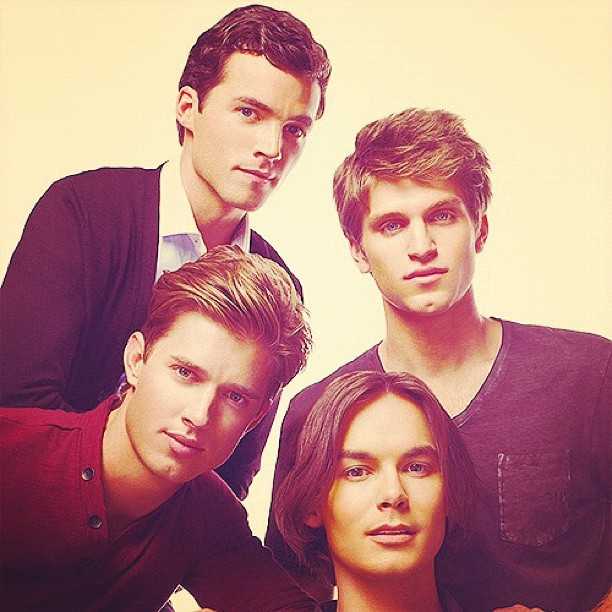 hot, caleb, ezra, guys