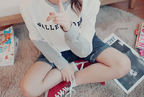 fashion, hot, jeans, kfashion, magazine, pants, pretty, sneakers, sweater, ulzzang, ulzzang girl