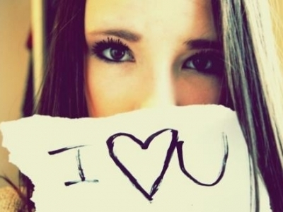 cute, girl, heart, i love you, love, quote, saying, sign