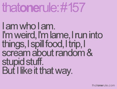 lame, life, me, quotes, random, rule, rules, sayings, stupid, text ...