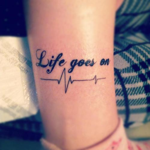 life, photography, saying, tattoo