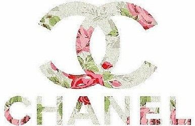 logo, chanel, cute, flowers