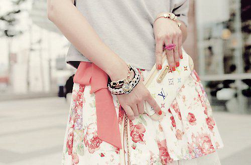 louis vuitton, cute, fashion, floral