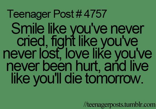 Teenager Post Love Quotes. QuotesGram