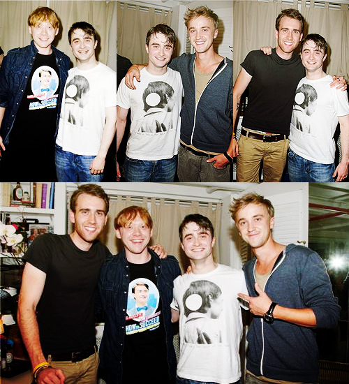 daniel radcliffe, draco malfoy, guys and handsome