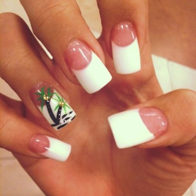 gorgeous, manicure, melissa marie, millionaires, nails, pedicure, pretty, tropical, uglyyy