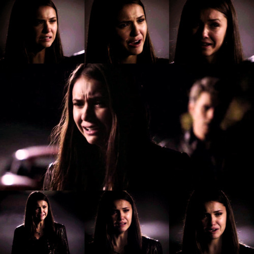 nina dobrev, bridge, couple, cry