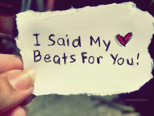 paper, beats, cute, heart