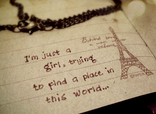 cute, drawing, eiffel tower, find, girl, necklace, paper, paris, photography, place, pretty, world