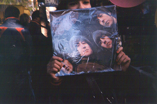 awesome, beautiful, boy, boys, dark, george harrison, girl, guy, hipster, indie, john lennon, legend, love, lp, music, paul mccartney, photo, photography, ringo starr, rubber soul, text, the beatles, tumblr, vintage, vinyl